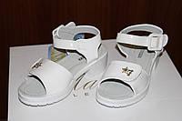 Детские босоножки Белый Лак Размер 31 - 36, фото 1