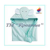 Полотенце с капюшоном для детей (под заказ от 50 шт.)