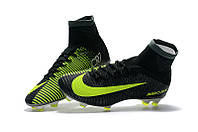 Детские футбольные бутсы Nike Mercurial Superfly V CR7 FG Seaweed/Volt/Hasta/White