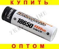 Аккумулятор батарея 18650 4800mAh 3.7v