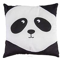 Подушка Панда - смайл грустный  (ПД-0150)