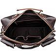 Дорожная сумка из натуральной кожи TIDING BAG 7028B, фото 4