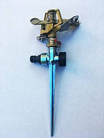 Металлический фрегат (ороситель) пульсирующий с металлической ногой