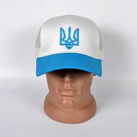 Літня бейсболка  чоловіча з  сіточкою INAL  з гербом України