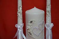 Свадебные свечи очаг №4