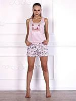 Комплект домашний, пижама красивого розового цвета 579/1