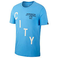 Футболка Манчестер Сити (Manchester City) Nike Squad Tee Sky