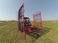 Борона пружинная Fieldprofi 8.6м