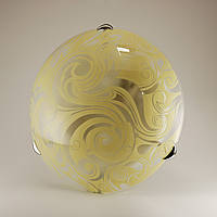 Круглый накладной светильник потолочный для кухни 2*60Вт Vesta Light 24450