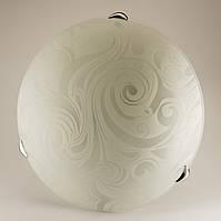 Круглый накладной потолочный светильник на кухню 2*60Вт Vesta Light 24320