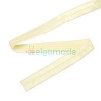 Тесьма эластичная для повязок, МОЛОЧНАЯ, 15 мм