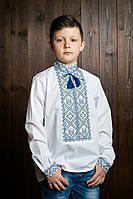 Модная вышиванка на подростка с национальным орнаментом