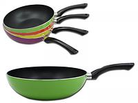 Сковорода с тефлоновым покрытием WOK 28 см для индукционных плит SNT 80113*