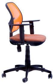 Крісло Квант Action, сидіння Квадро-70, спинка помаранчева Сітка (AMF-ТМ)
