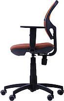 Крісло Квант Action, сидіння Квадро-70, спинка помаранчева Сітка (AMF-ТМ), фото 3