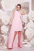 Вечернее платье трансформер розовое, фото 1