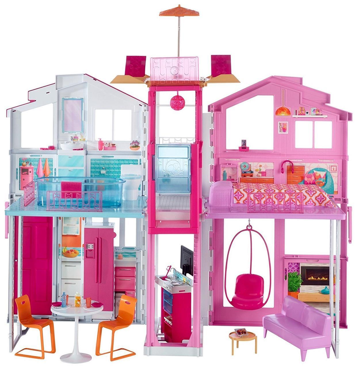 Городской дом Барби Малибу DLY32