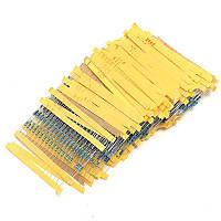 Набор резисторов 0,25Вт (упаковка-650шт, 130 номиналов по 5шт)