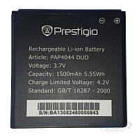Аккумулятор (Батарея) Prestigio PAP4044 DUO MultiPhone (1500 mAh) Оригинал
