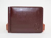 Мужской кошелек-скрепка P.T.K.1(черный , коричневый)