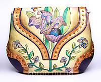 Оригинальная кожаная женская сумка, фото 1