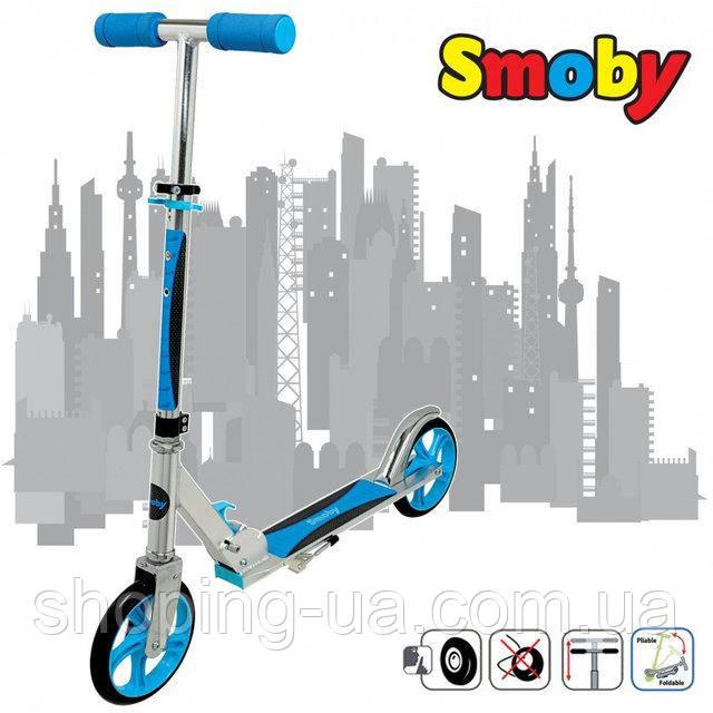 Самокат двухколесный City Scooter Smoby 750316