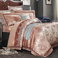 Комплект постельного белья Вилюта сатин жаккард Tiare двуспальный Евро 1711