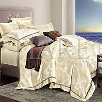 Комплект постельного белья Вилюта сатин жаккард Tiare двуспальный Евро 1709