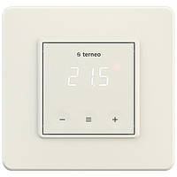 Сенсорный терморегулятор Terneo s (слоновая кость)