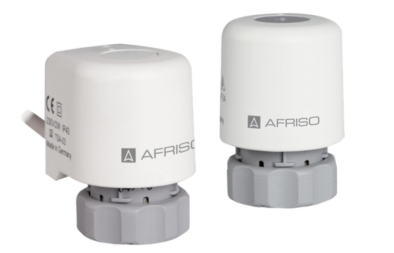 Термоэлектрический привод Afriso ProCalida нормально-закрытый на клапаны с резьбой М30 х 1.5