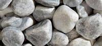 Мраморная галька серая Бордилия 25-40 мм, фото 1
