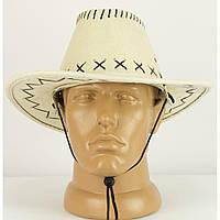 Шляпа ковбоя замшевая детская (белая) 290417-001