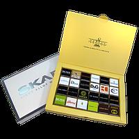 Шоколад с логотипом 24 шт