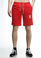 Трикотажные красные мужские шорты Ястребь
