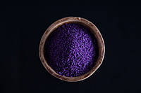 Цветные насыпные свечи - все цвета радуги VIOLET(фиолет)