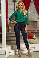 Блузка Орнелла зелёный