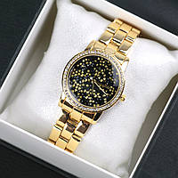 Часы женские наручные Guess Shiny золото