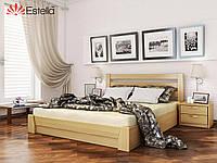 Кровать из натурального дерева Селена (Эстелла)