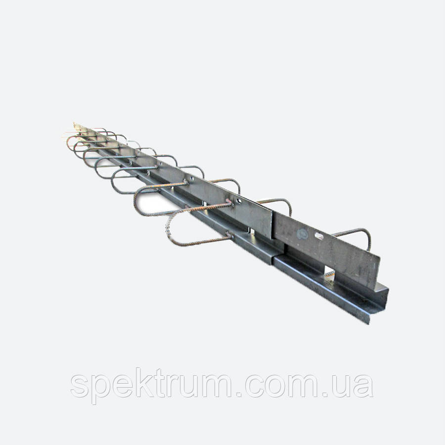 Стальные деформационные швы по бетону ПДШ Омега-профиль Ѡ-168