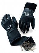 Перчатки Fox Static Wrist Wrap черный М