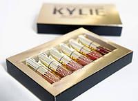 Набор Жидких Матовых Помад Kylie Birthday Edition Блески для Губ 6 штук