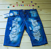 Джинсовые  шорты для мальчика    рост 134-140 см, фото 1