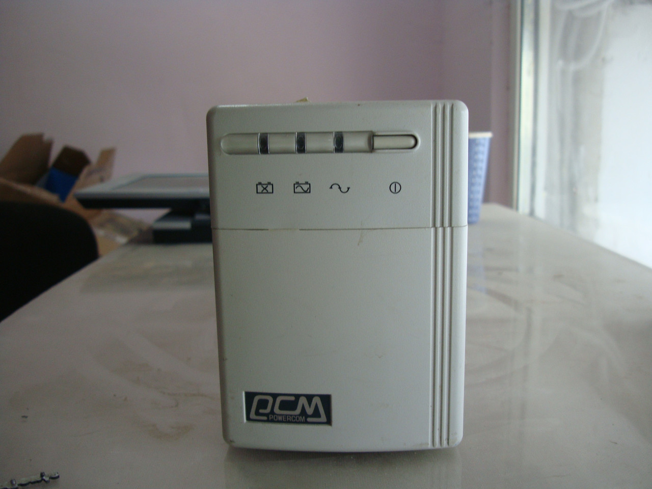 Б/у ибп  Powercom KIN-625AP без аккумулятора