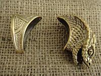 Бронзовый комплект для ножа № 23 Змея