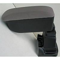 Подлокотник Daihatsu Terios Botec серый тканевый