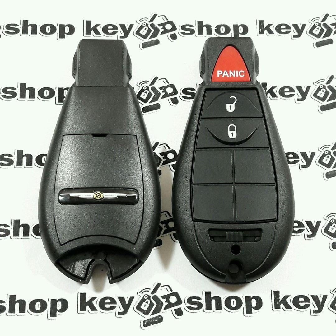 Корпус смарт ключа Chrysler (Крайслер) 2 кнопки + 1 (panic)
