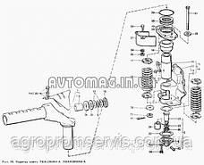 Шкворень кронштейна выдвижного подвески ПВМ (Т-40, Д-144) , фото 3