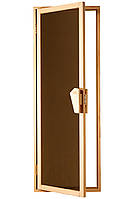 """Двери для бани и сауны (модель """"УНО"""") 678х1880, 4мм стекло"""