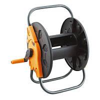 Удобная катушка для шланга 3601 без колес, Orange, пластик, стальная рама, коробка 40х35х10 см