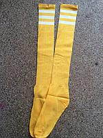Гетри підліток жовто-білі 37-43 р-р, фото 1
